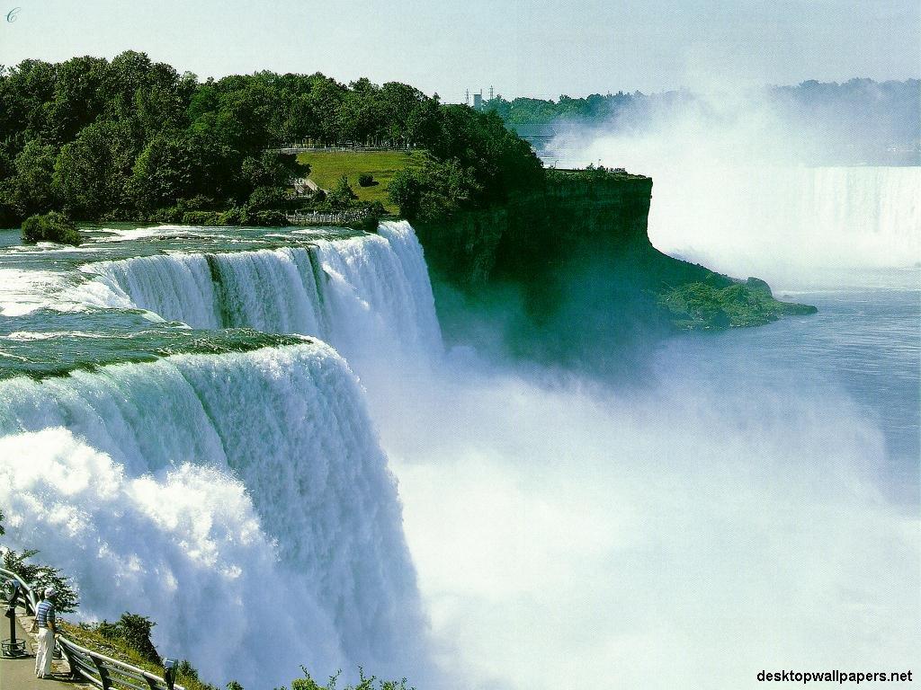Niagara Falls at desktopWallpapersnet 1024x768