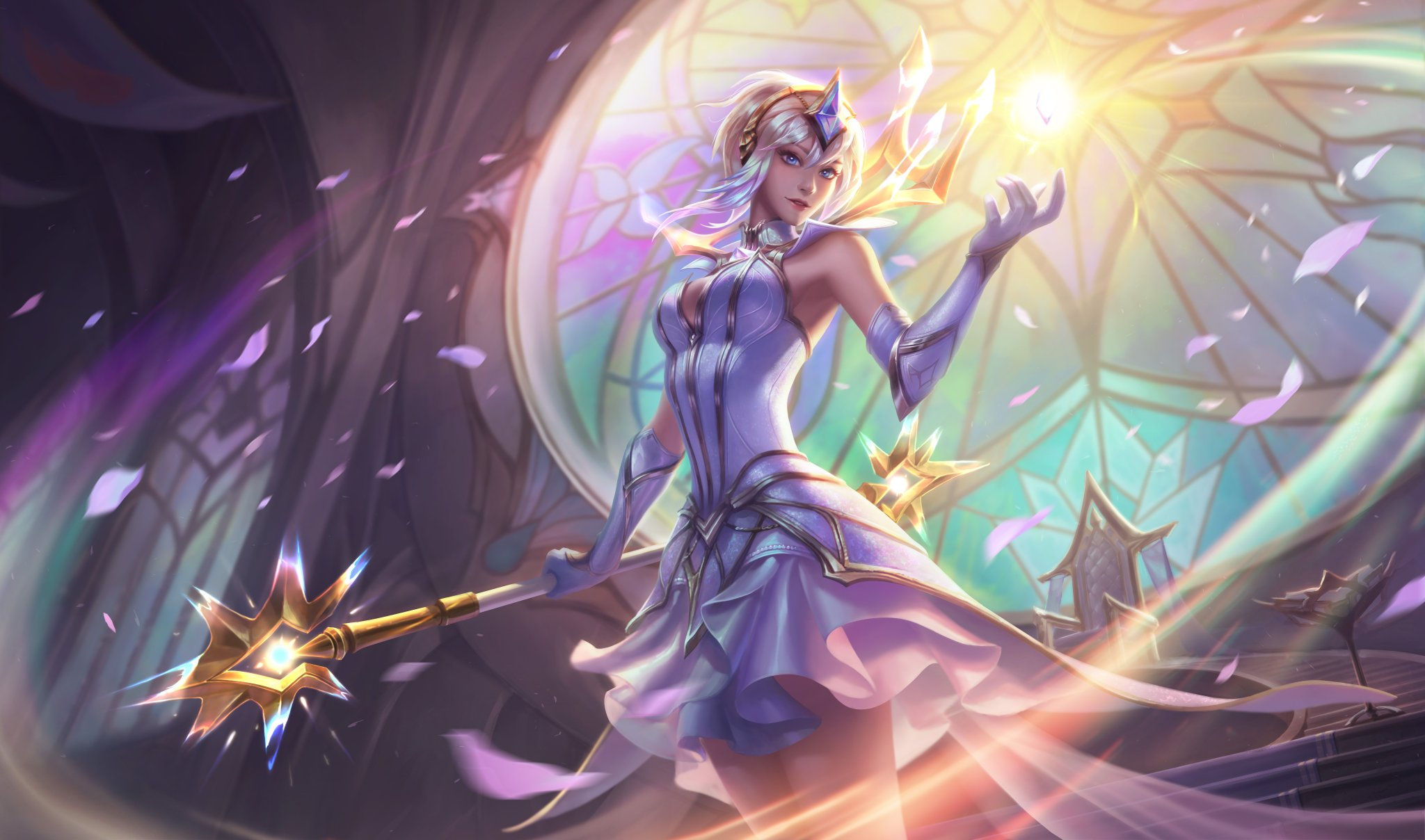 86 Lux League Of Legends HD Wallpapers Background Images 2048x1208