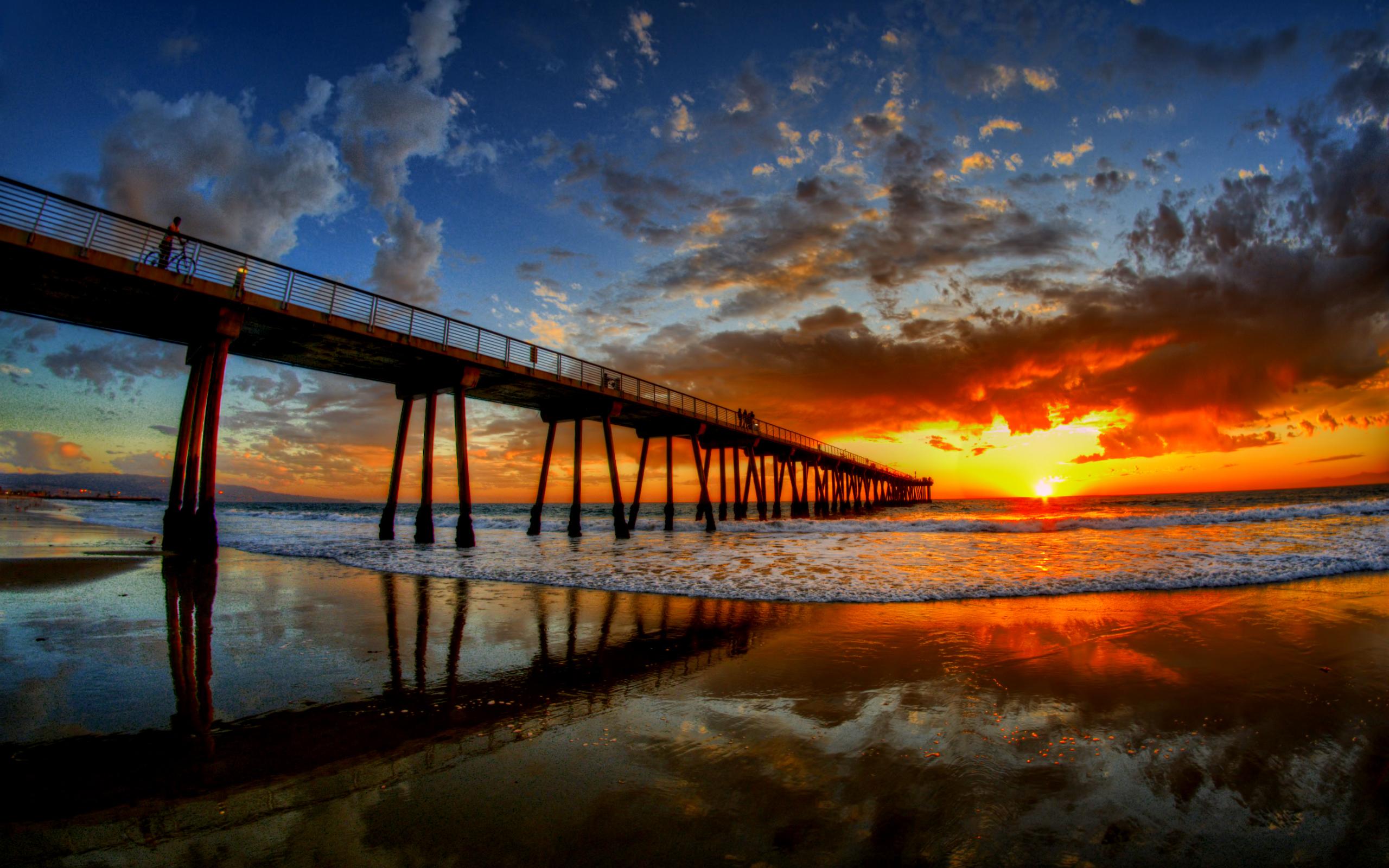 summer sunset landscape wallpaper - photo #18