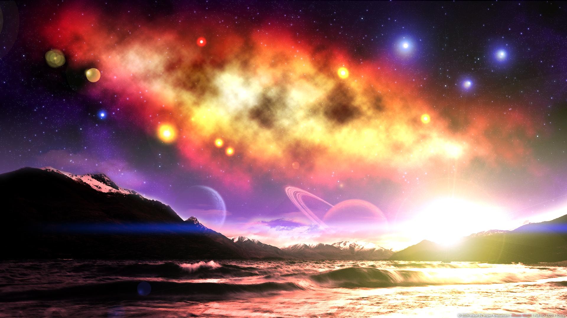 Sci Fi Wallpaper 1920x1080 Sci Fi Planets Post The Best 1920x1080