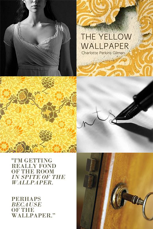 50 Charlotte Perkins Gilman Yellow Wallpaper On