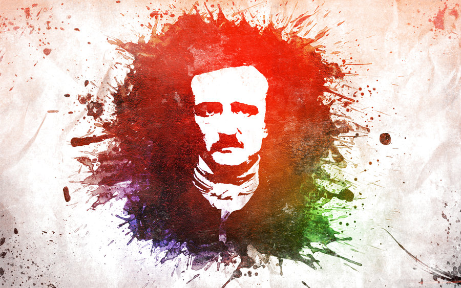 Edgar Allan Poe by therecklessboy 900x563