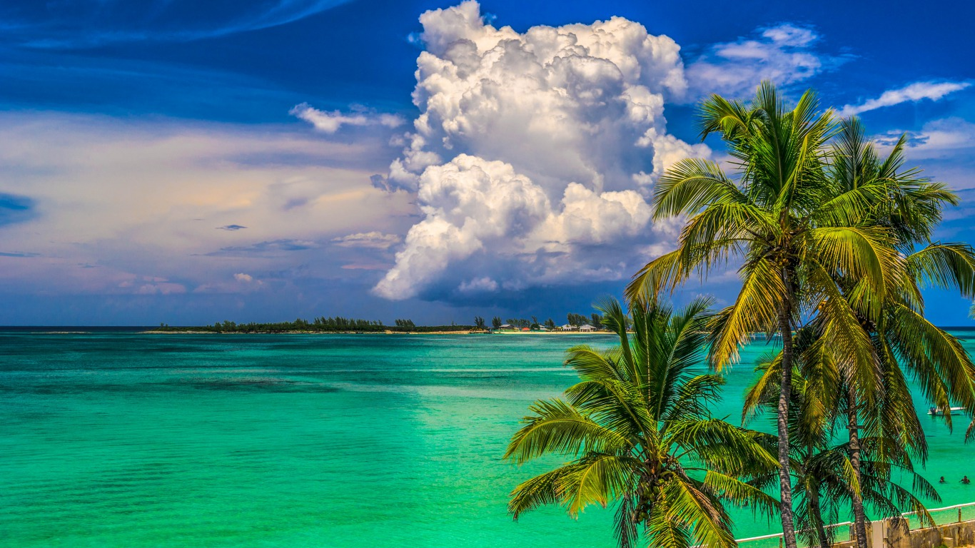 Tropical Island Computer Wallpapers Desktop Backgrounds 1366x768