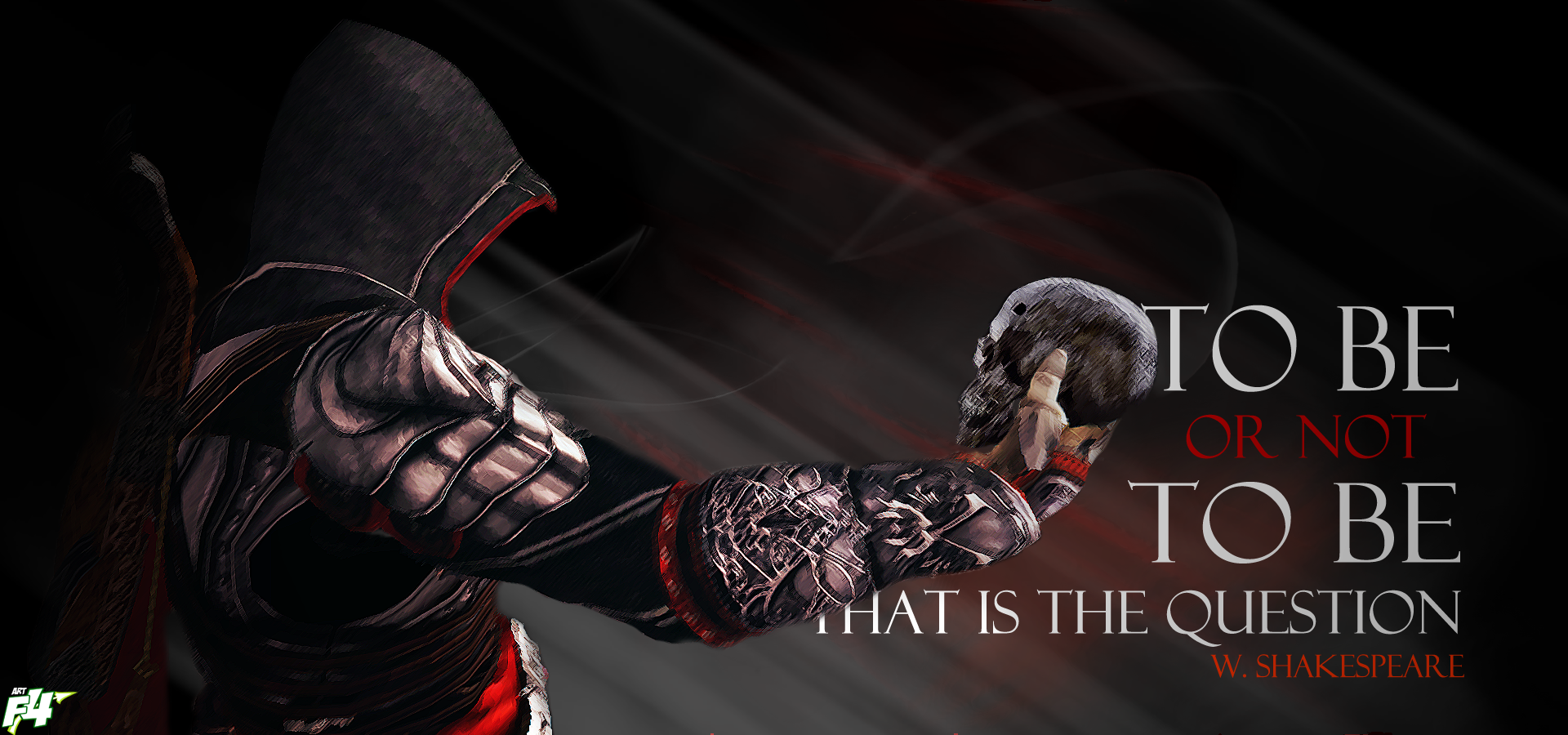 Free Download To Be Or Not To Be Assassin By Artef4ct 1920x900