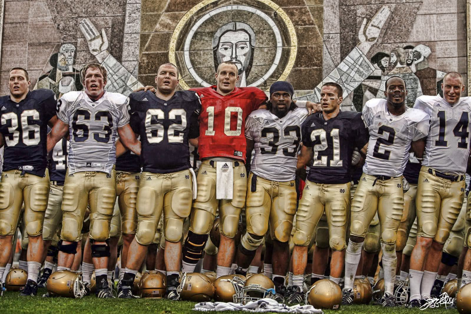 Wallpapers Backgrounds   notre dame football wallpapers 1599x1066