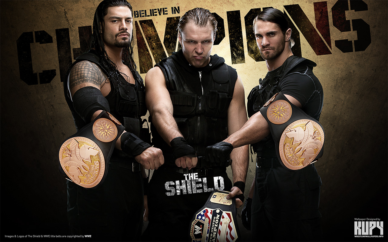 The Shield   Champions   The Shield WWE Wallpaper 34659039 1280x800