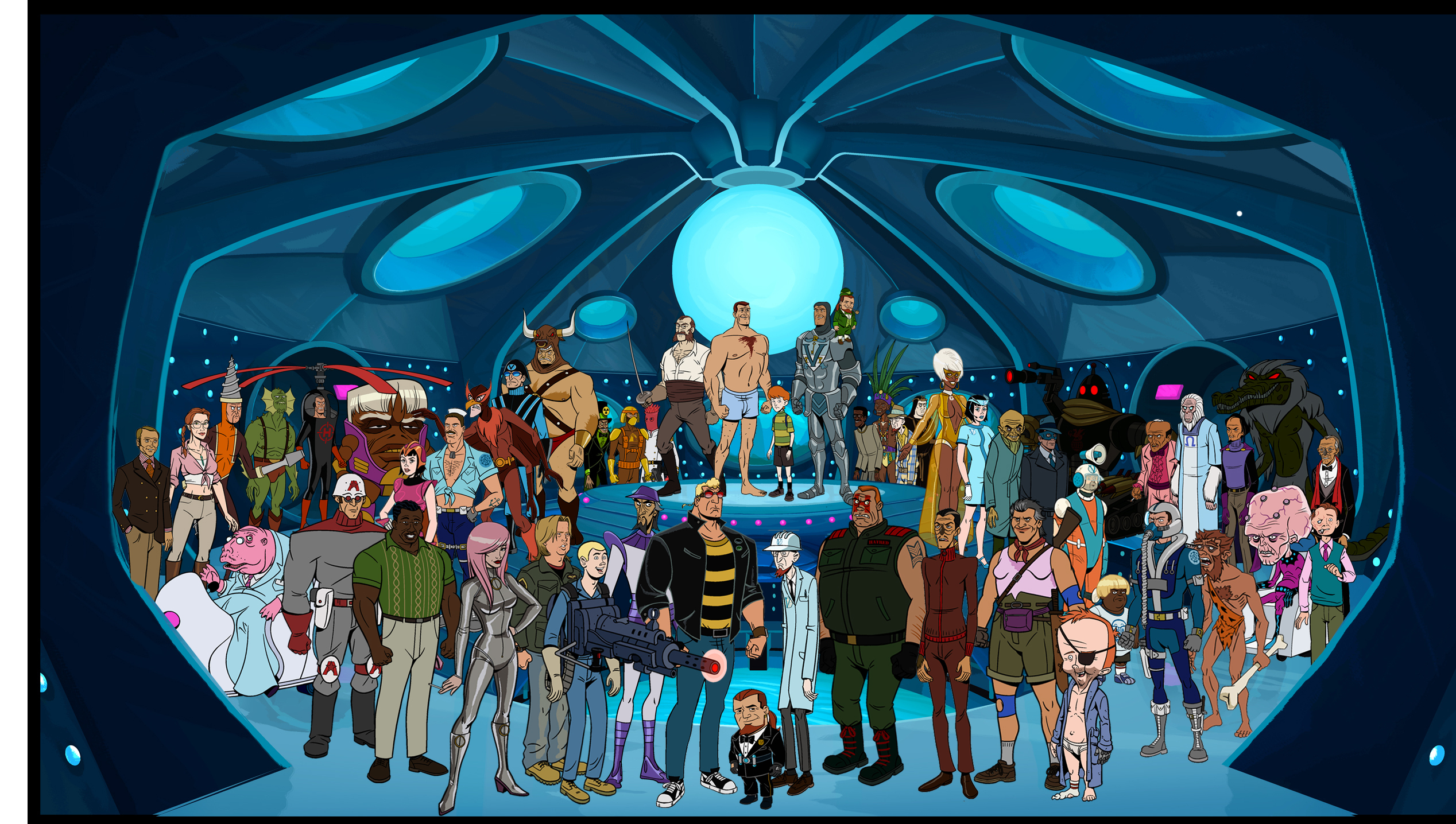 The Venture Bros Wallpapers and Background Images   stmednet 2536x1436