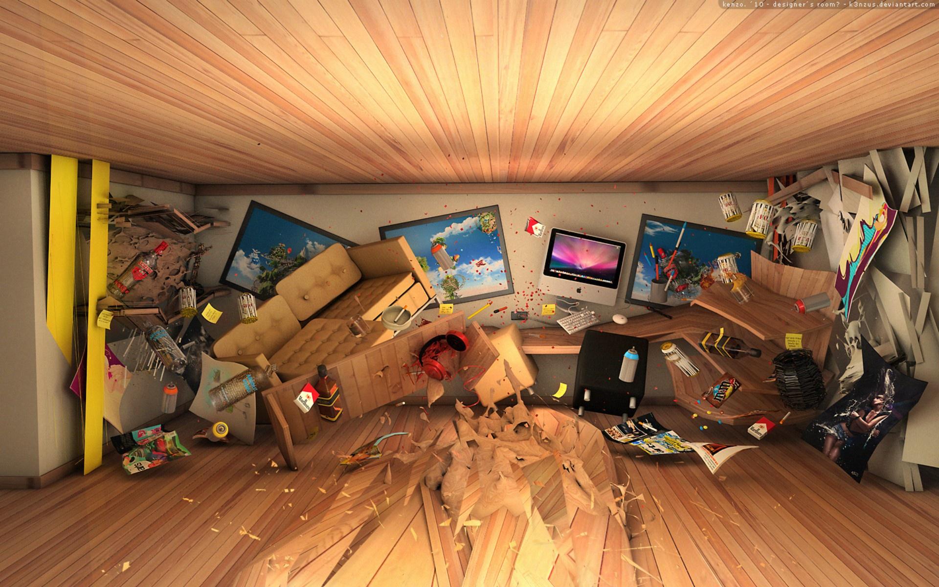 3d room wallpaper - wallpapersafari