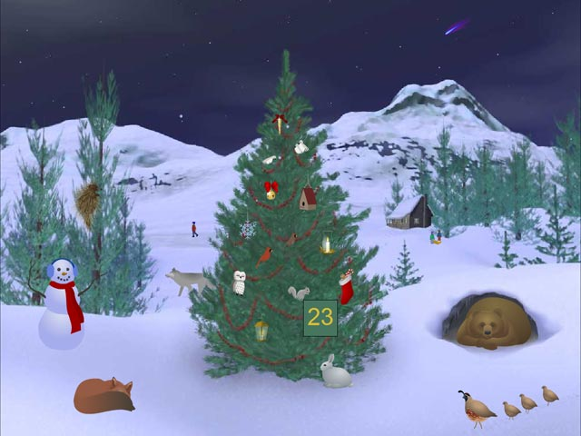 Screensavers Holidays Christmas Countdown Auto Design Tech 640x480
