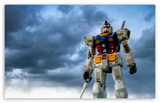 Gundam Odaiba HD wallpaper for Standard 43 54 Fullscreen UXGA XGA 510x330