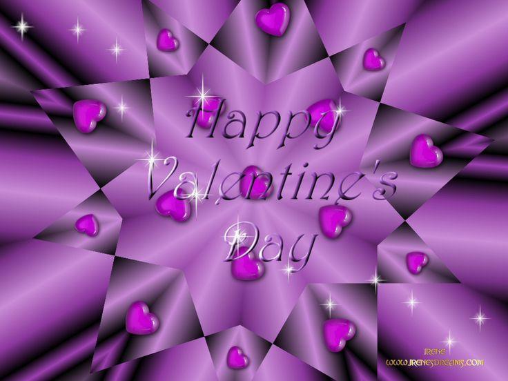 Valentines Day Screensavers valentine purple Wallpaper 736x552