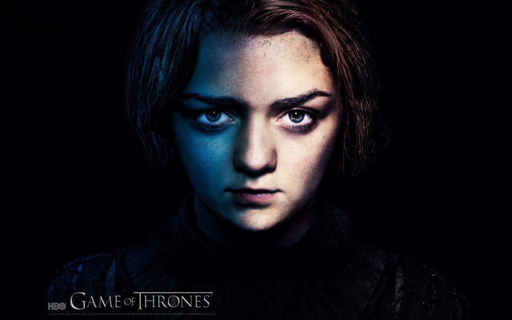 Game Of Thrones Maisie Williams Arya Stark   Stock Photos 1040x650