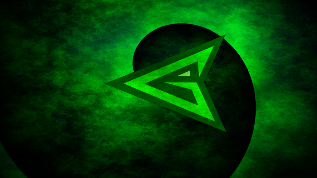 Green Arrow Logo Wallpaper Green arrow 1024x576