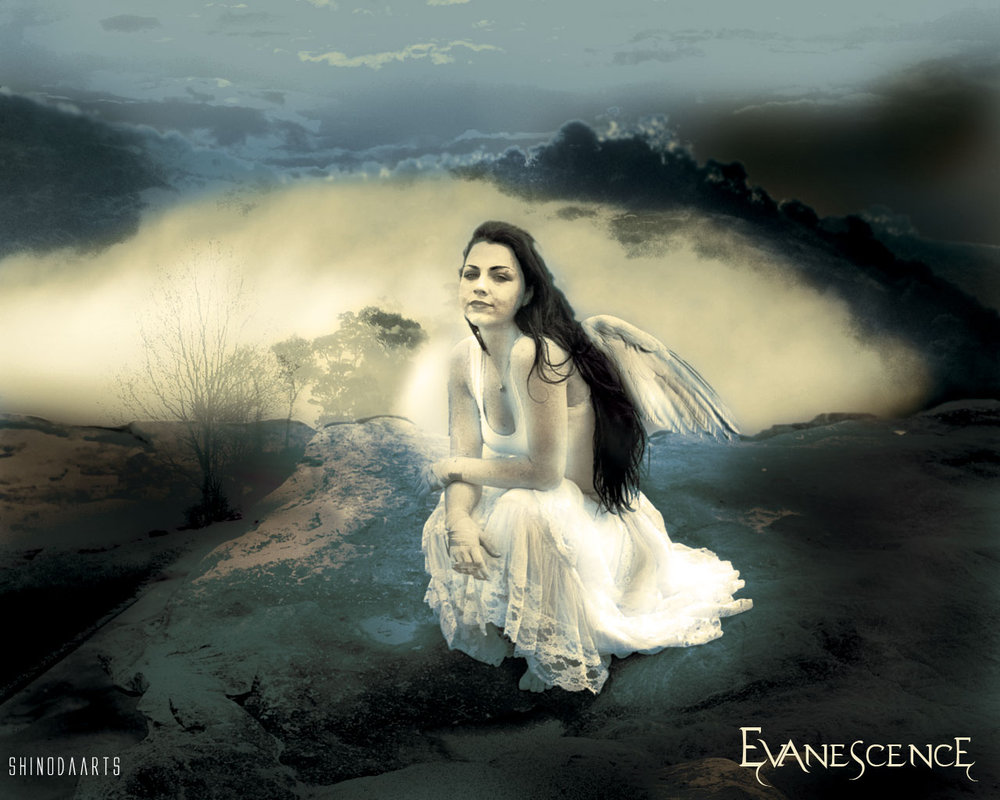 evanescence wallpaper by ShinodaArts 1000x800