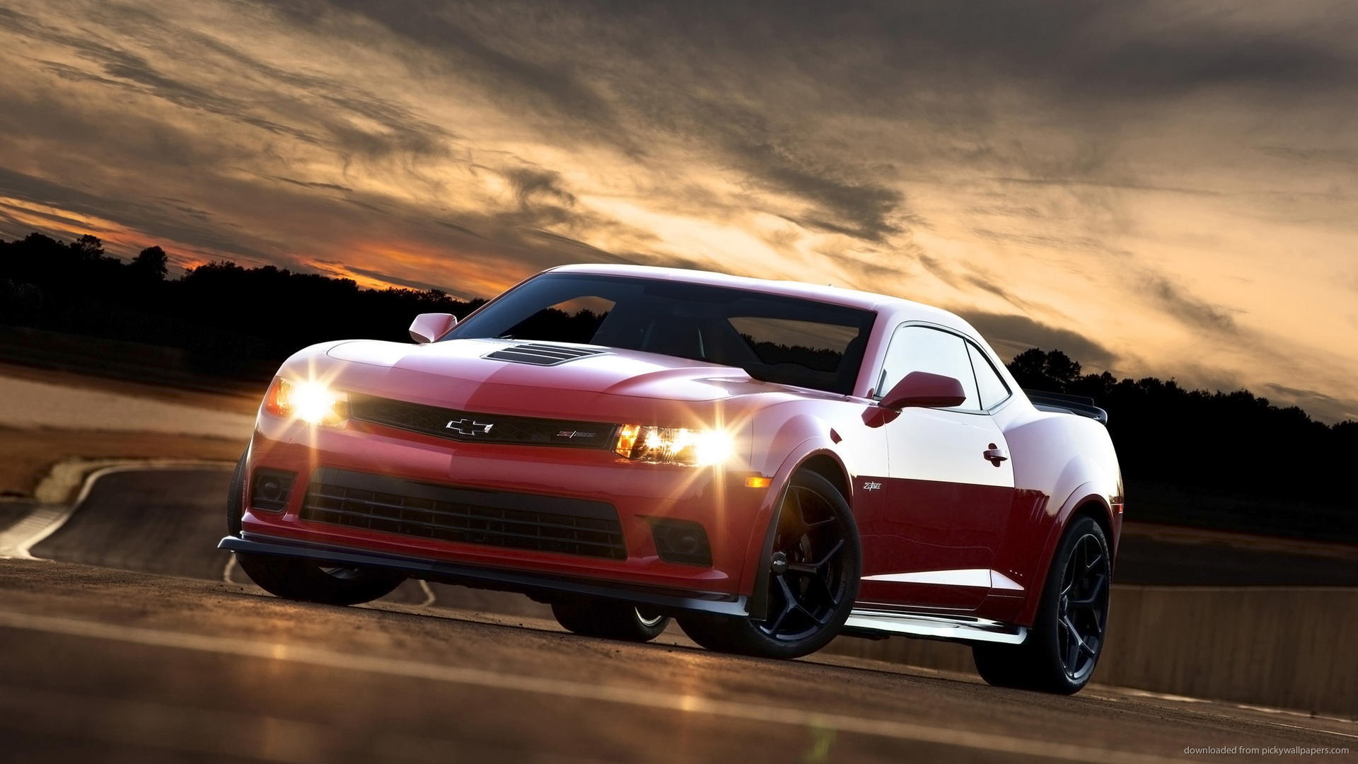 Red 2015 Chevrolet Camaro Wallpaper picture 1920x1080