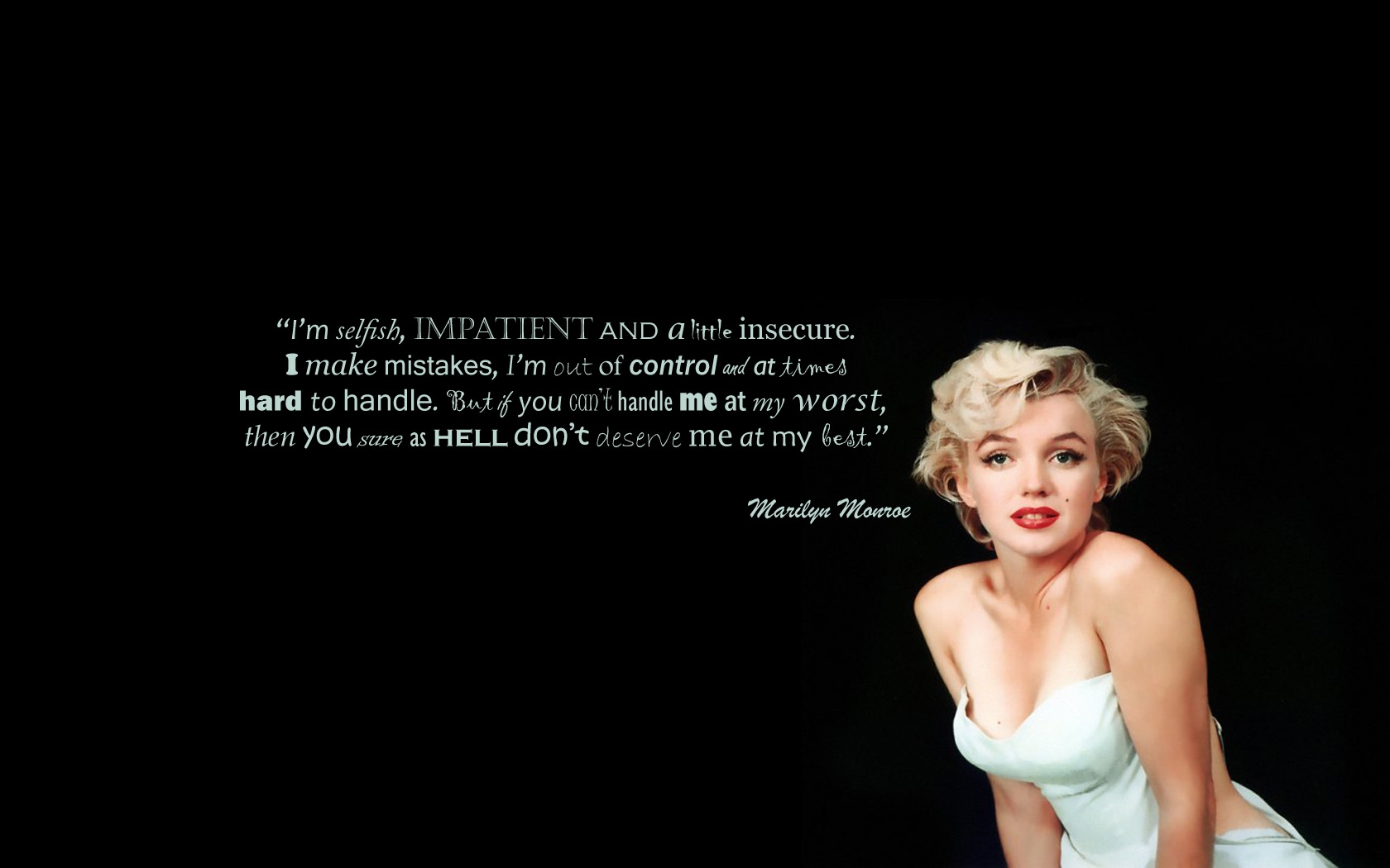 35 Marilyn Monroe Quotes Wallpapers On Wallpapersafari