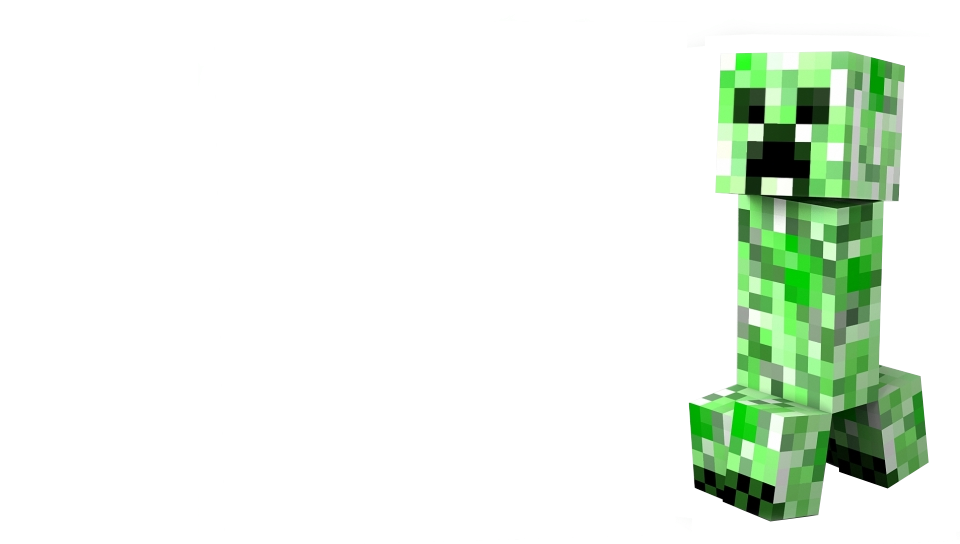 You can download Minecraft Creeper Transparent Background in your 960x544
