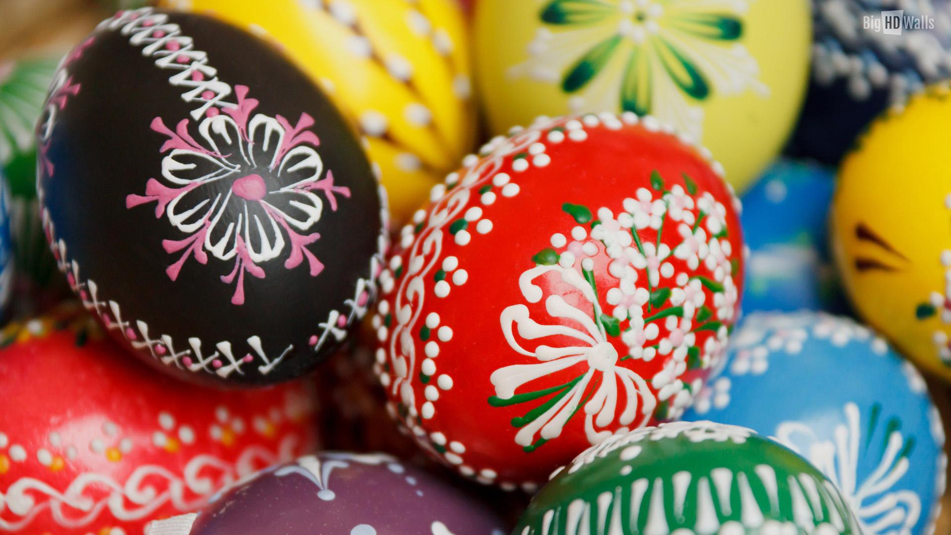 Easter eggs wallpaper hd jpg 297404 1920x1080