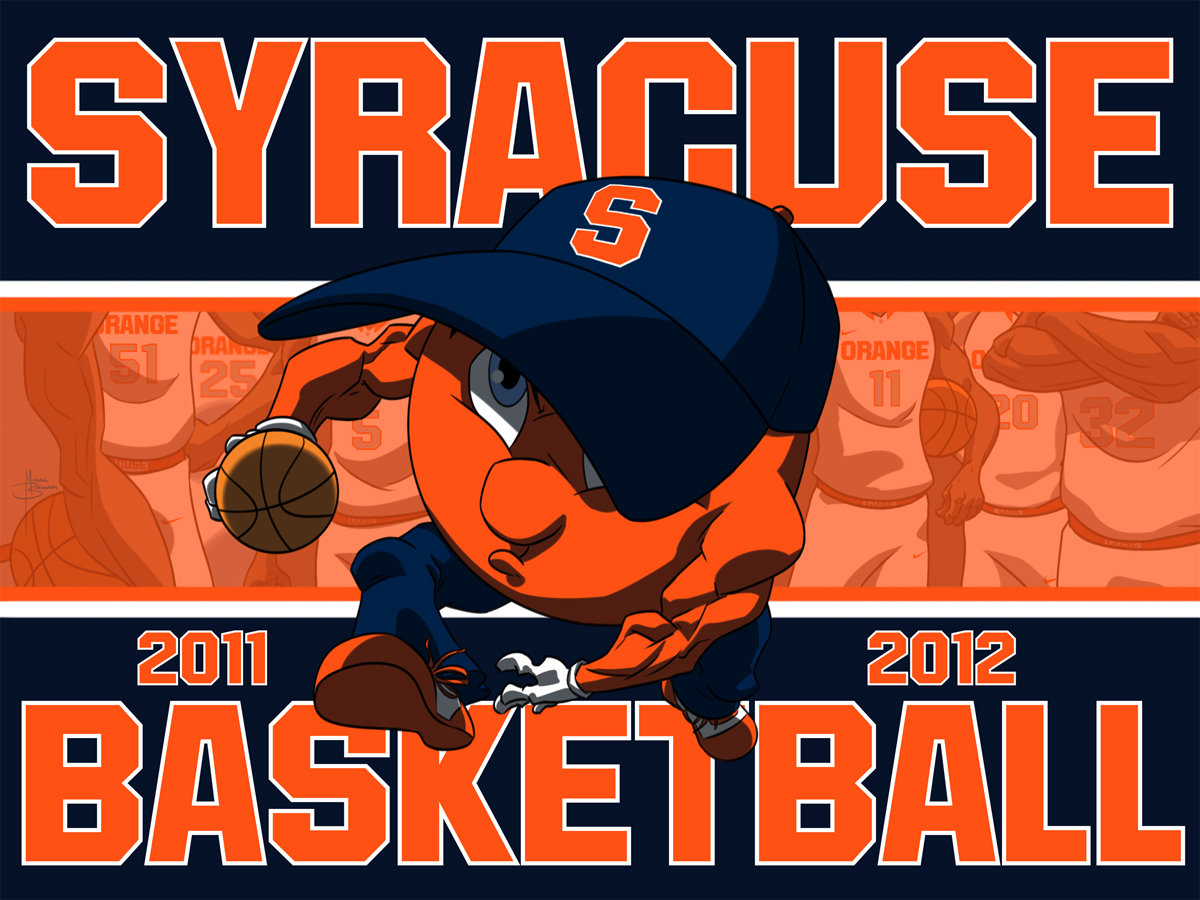 Syracuse basketball cartoon The season is here syracusecom 1200x900