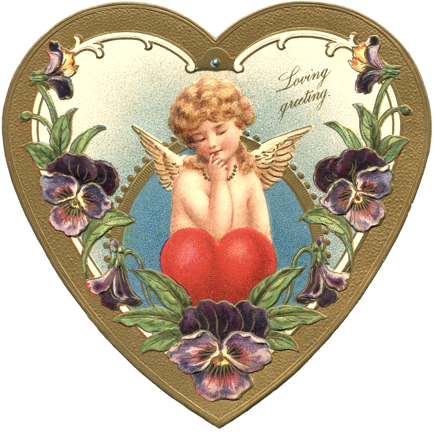 9 Cherubs and Hearts Images   Updated   The Graphics Fairy 1500x1494