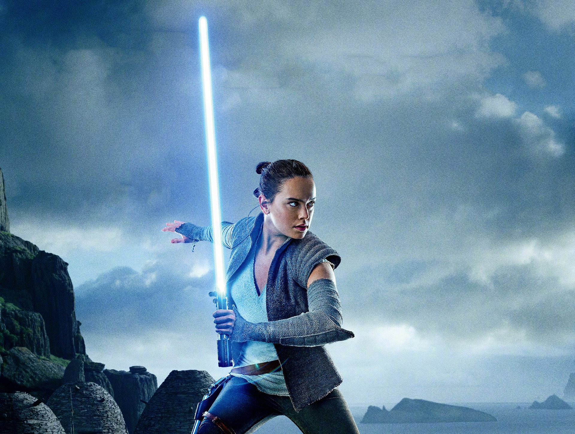Free Download Rey In Star Wars The Last Jedi Wallpaper 1920x1450