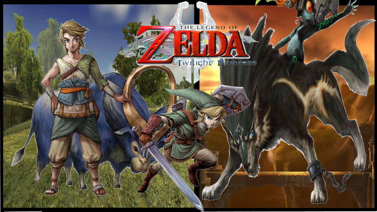 Zelda Twilight Princess Iphone Wallpaper Twilight princ 1600x900