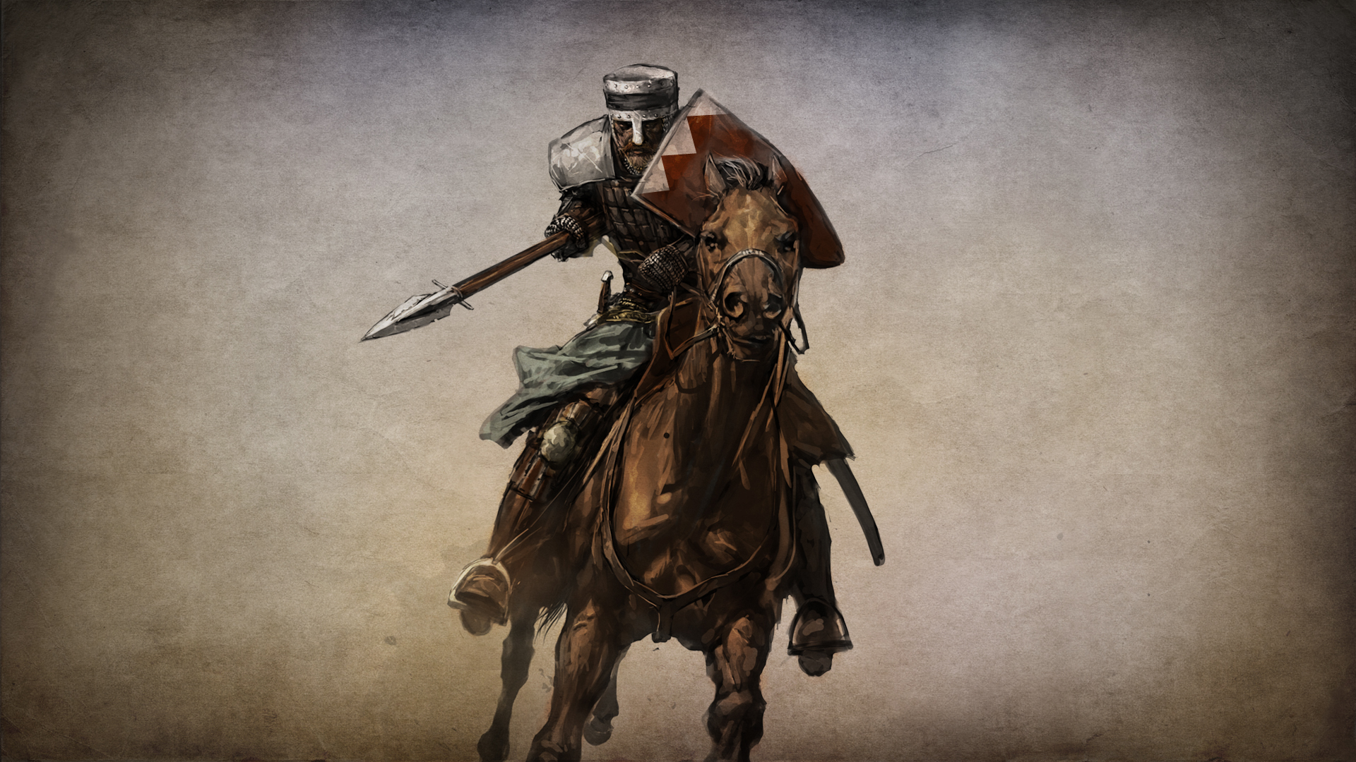 MOUNT AND BLADE fantasy warrior armor weapon sword horse g wallpaper 1920x1080