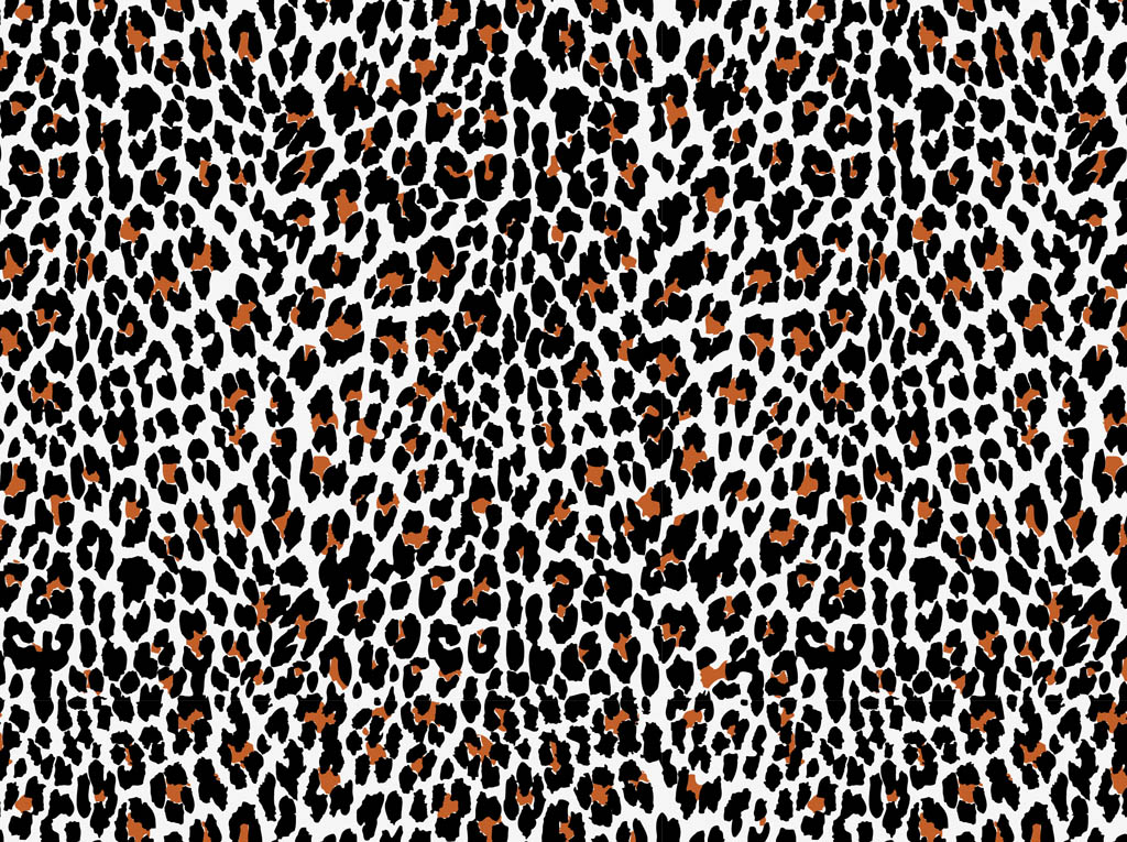 Free Download Animal Print Vector 1024x765 For Your