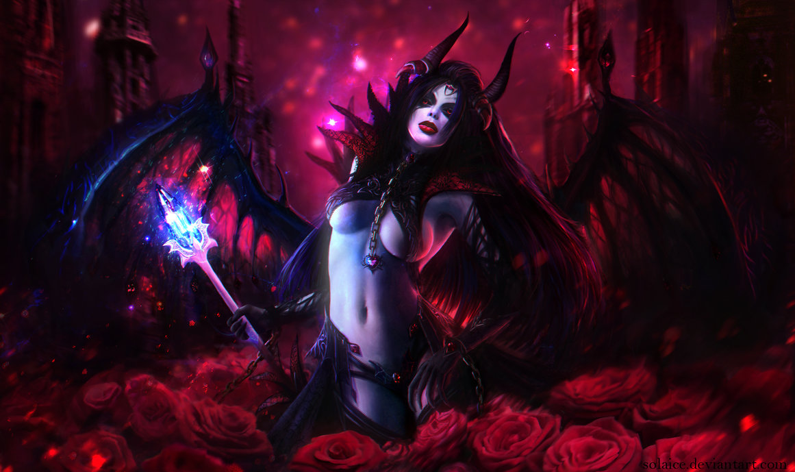 Queen of Pain by Solaice 1161x689