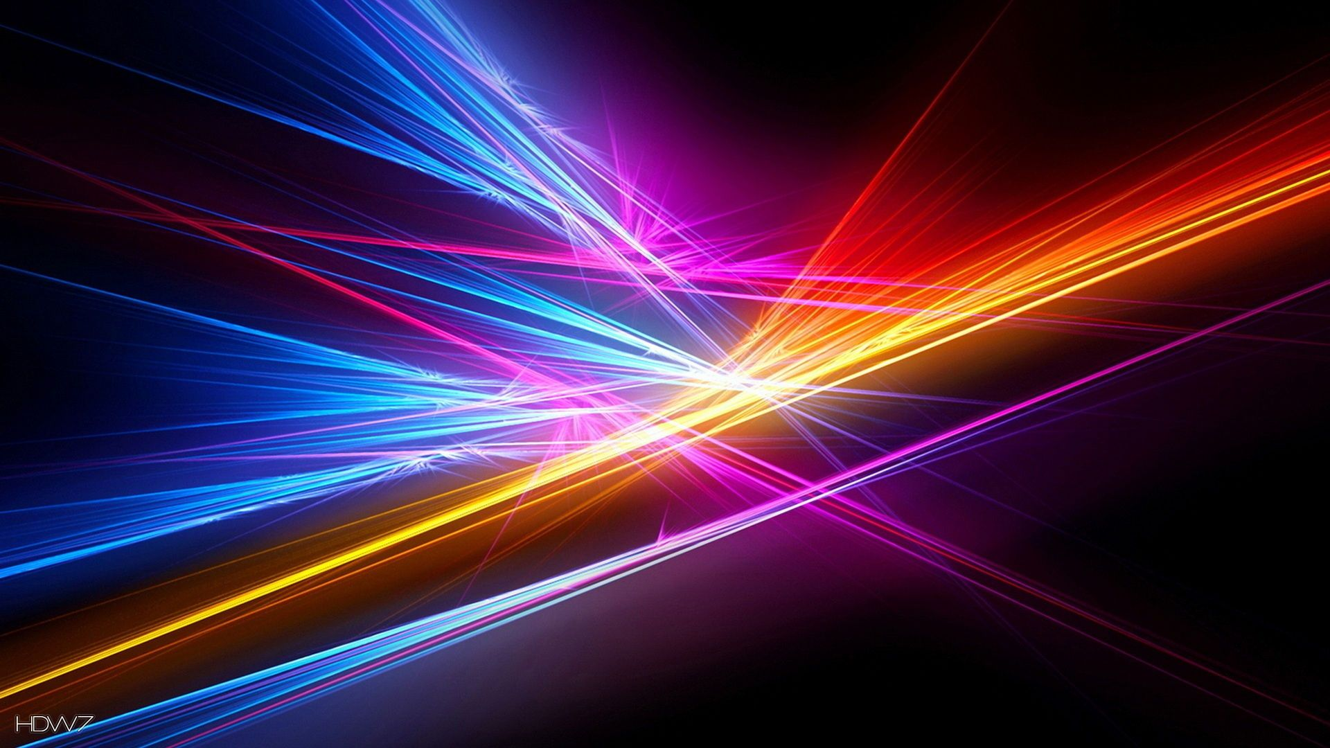 abstract electric light lines 1920x1080 HD WALLPAPERS GALLERY 1920x1080