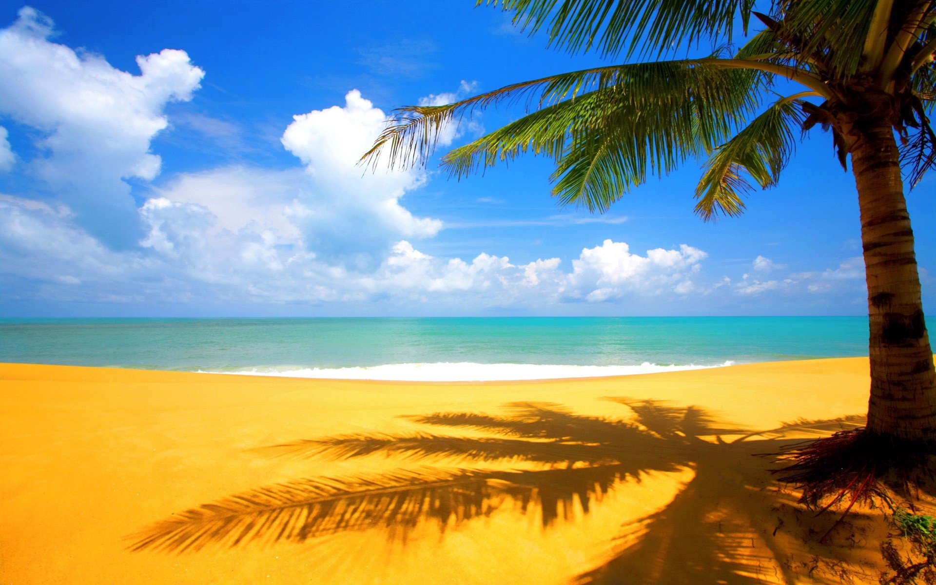 Beach Desktop Wallpaper Widescreen: Hd Beach Desktop Backgrounds