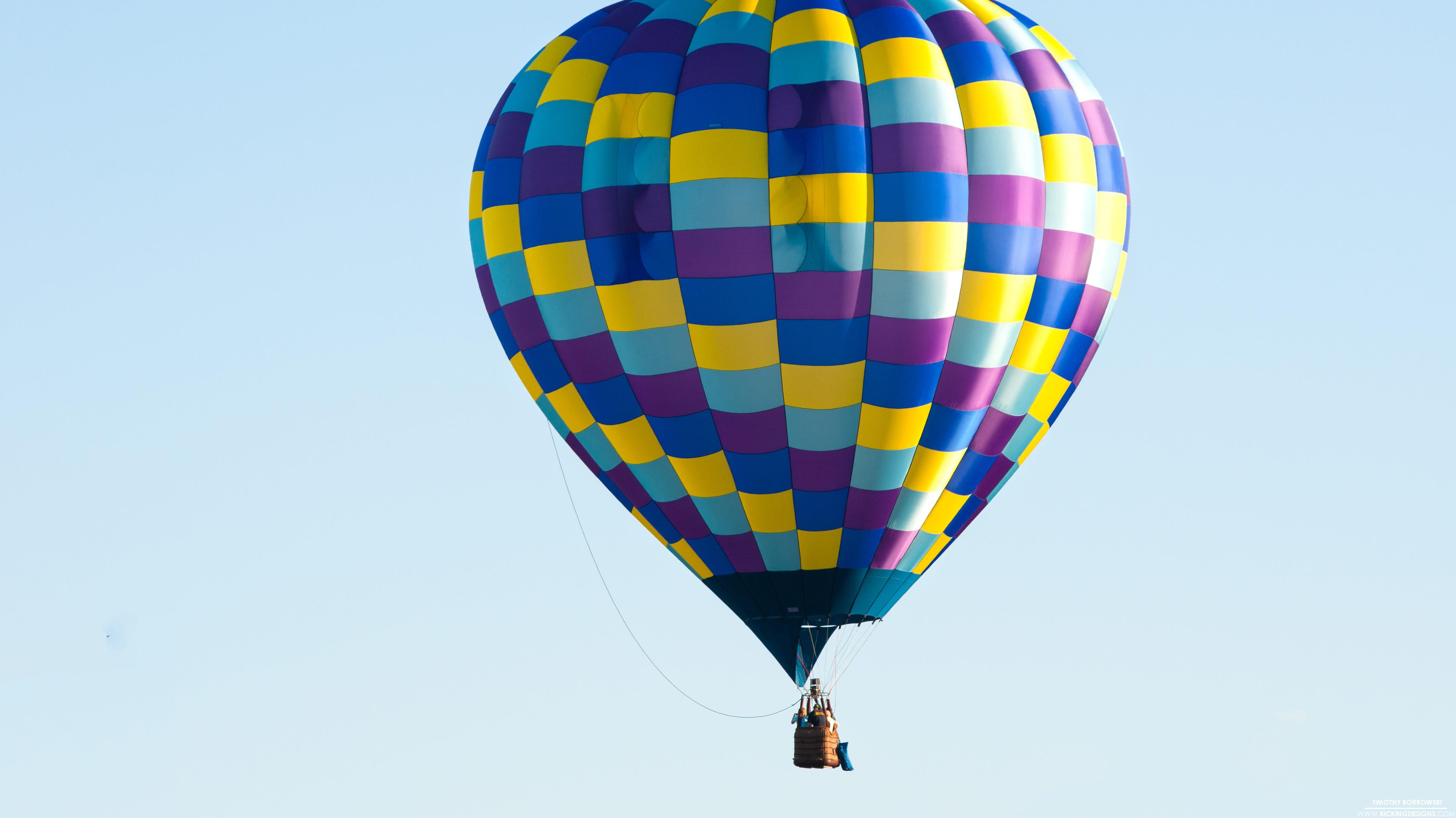 Hot Air Balloon 9 29 2013 Wallpaper Background Kicking Designs 3840x2160