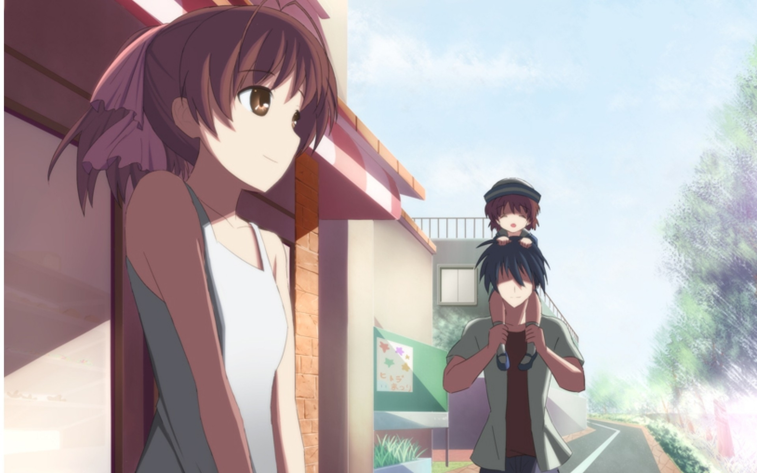Clannad After Story Background Download 2560x1600