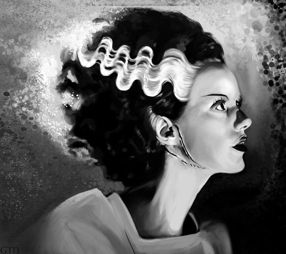 Bride of Frankenstein by gerardtorbitt 949x842