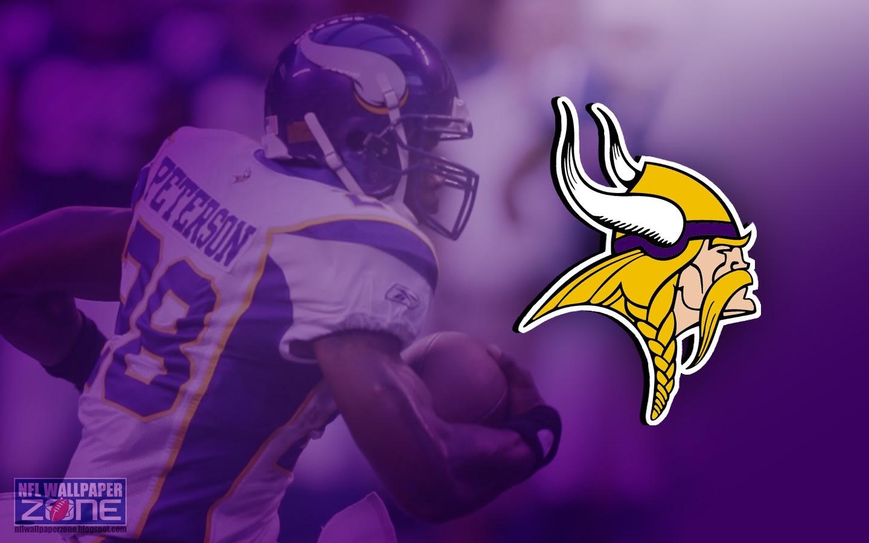 NFL Wallpaper Zone Minnesota Vikings Wallpaper   Logo Desktop 1440x900