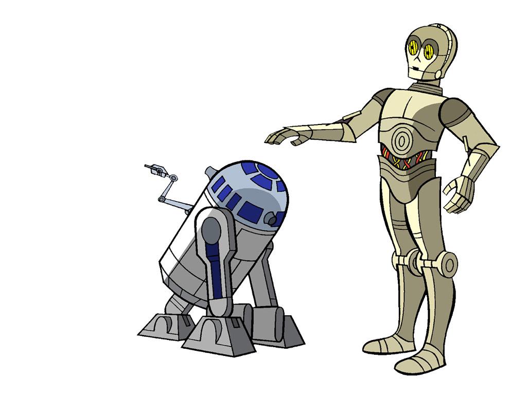 Star Wars Cartoon Wallpaper Cartoon Images 1024x768