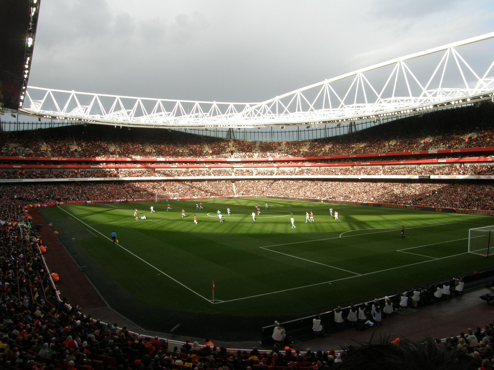 Emirates Stadium at Night Wallpaper Emirates Stadium Wallpaper at 2048x1536