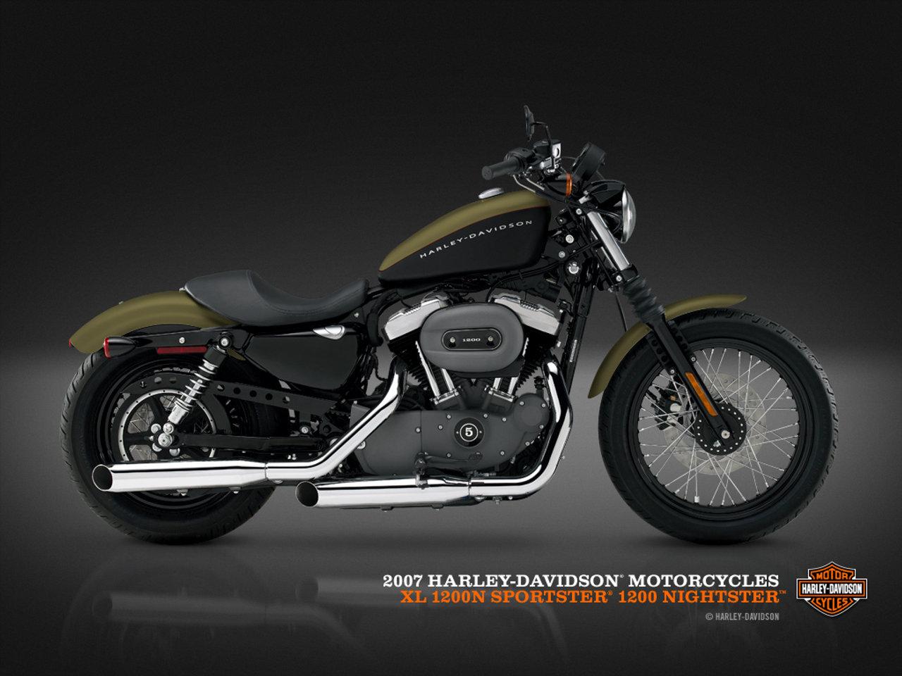 Harley Sportster Wallpaper 1280x960
