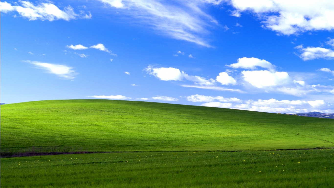 1366x768 Desktop Wallpaper High Quality: Windows XP Wallpaper 1366x768
