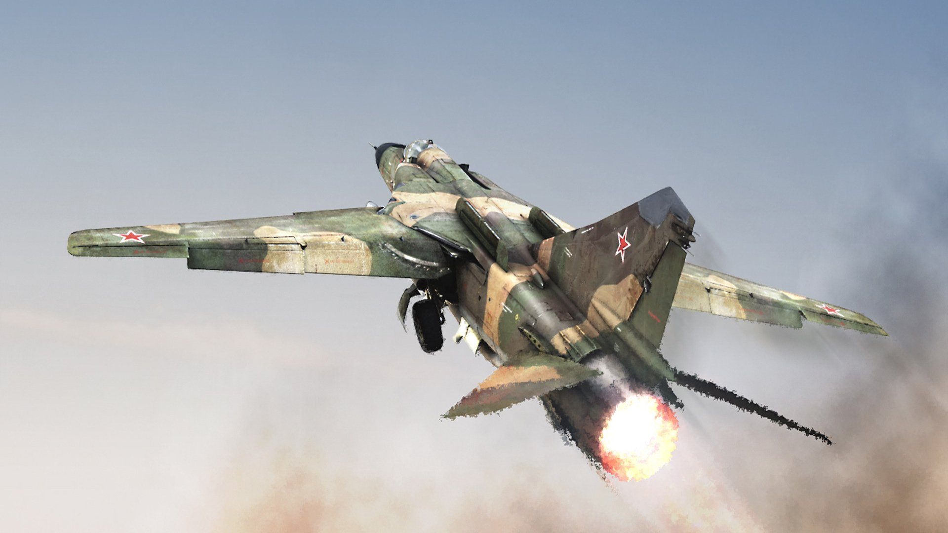 3 Mikoyan Gurevich MiG 23 HD Wallpapers Background Images 1920x1080