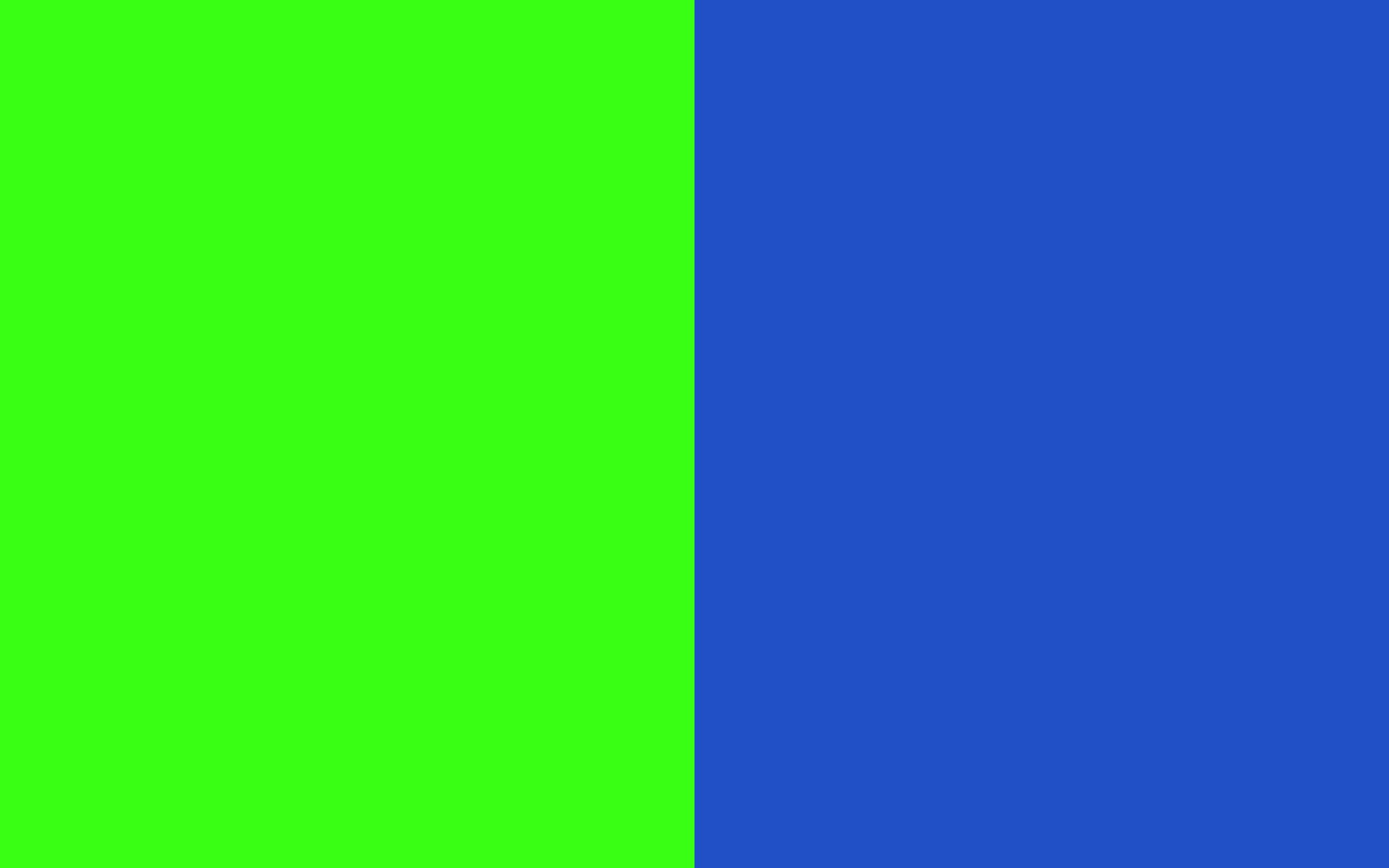 Blue and Neon Green Backgrounds 2560x1600