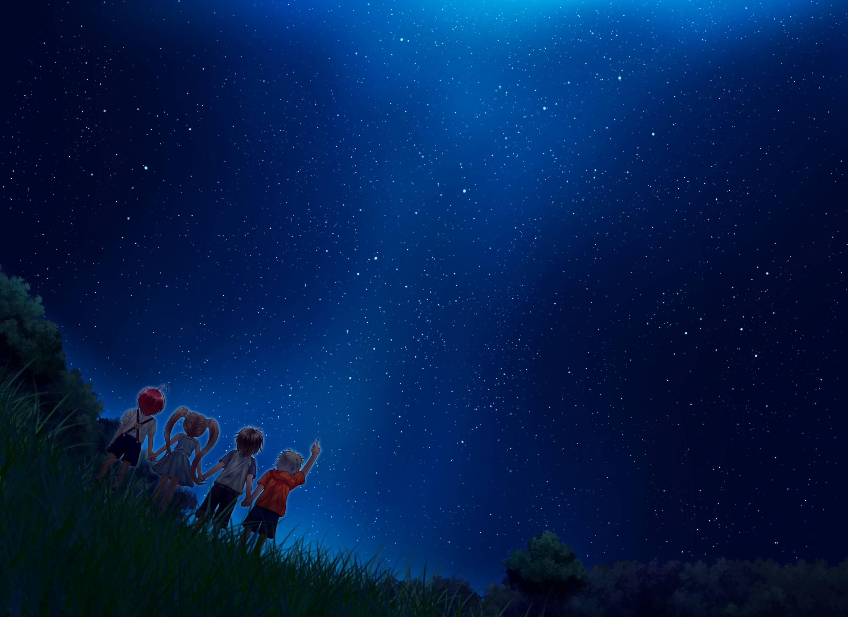 starry night sky wallpaper 1920x1080 MEMEs 2749x2000
