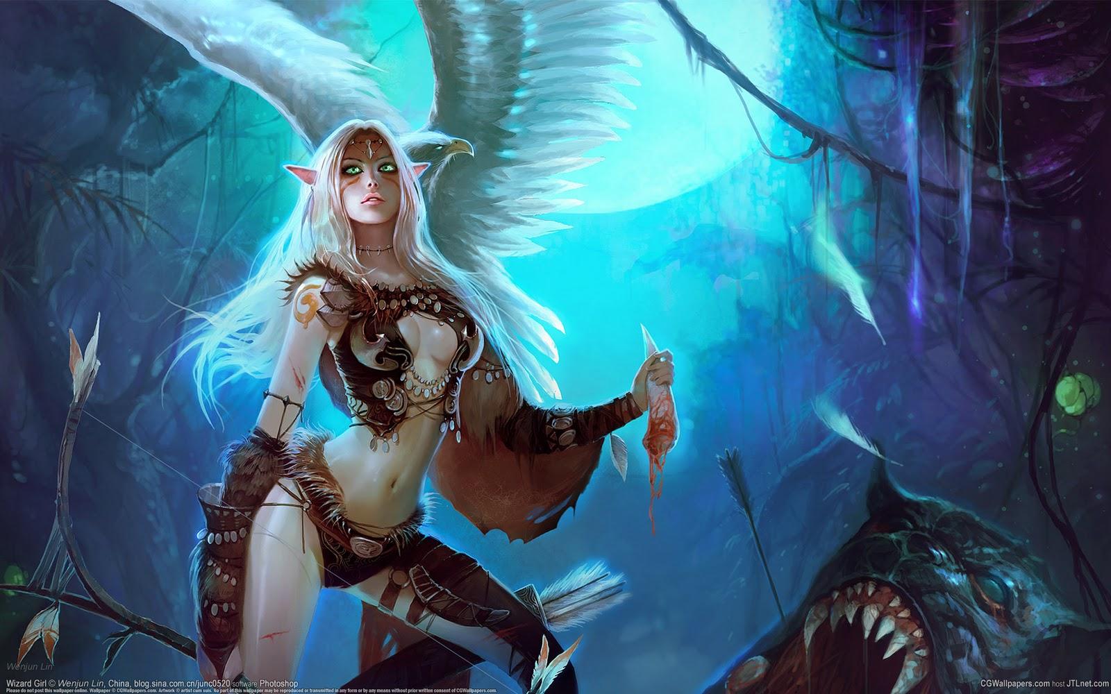 fantasy wallpaper hd widescreen ImageBankbiz 1600x1000