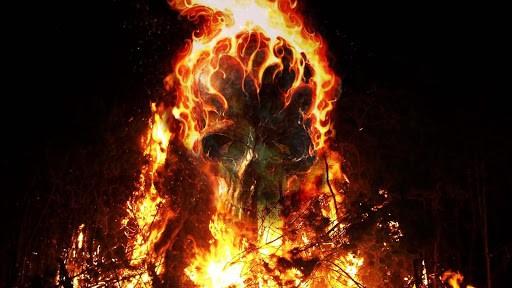 fire skulls live wallpaper is a high quality live wallpaper app pair 512x288