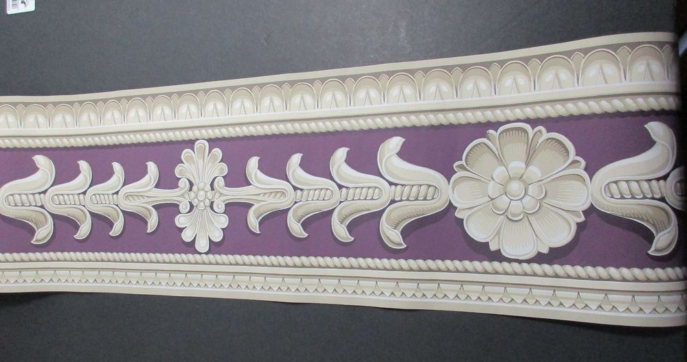 York Architectural Wallpaper Border Crown Molding Trim Medallion 5 1000x528