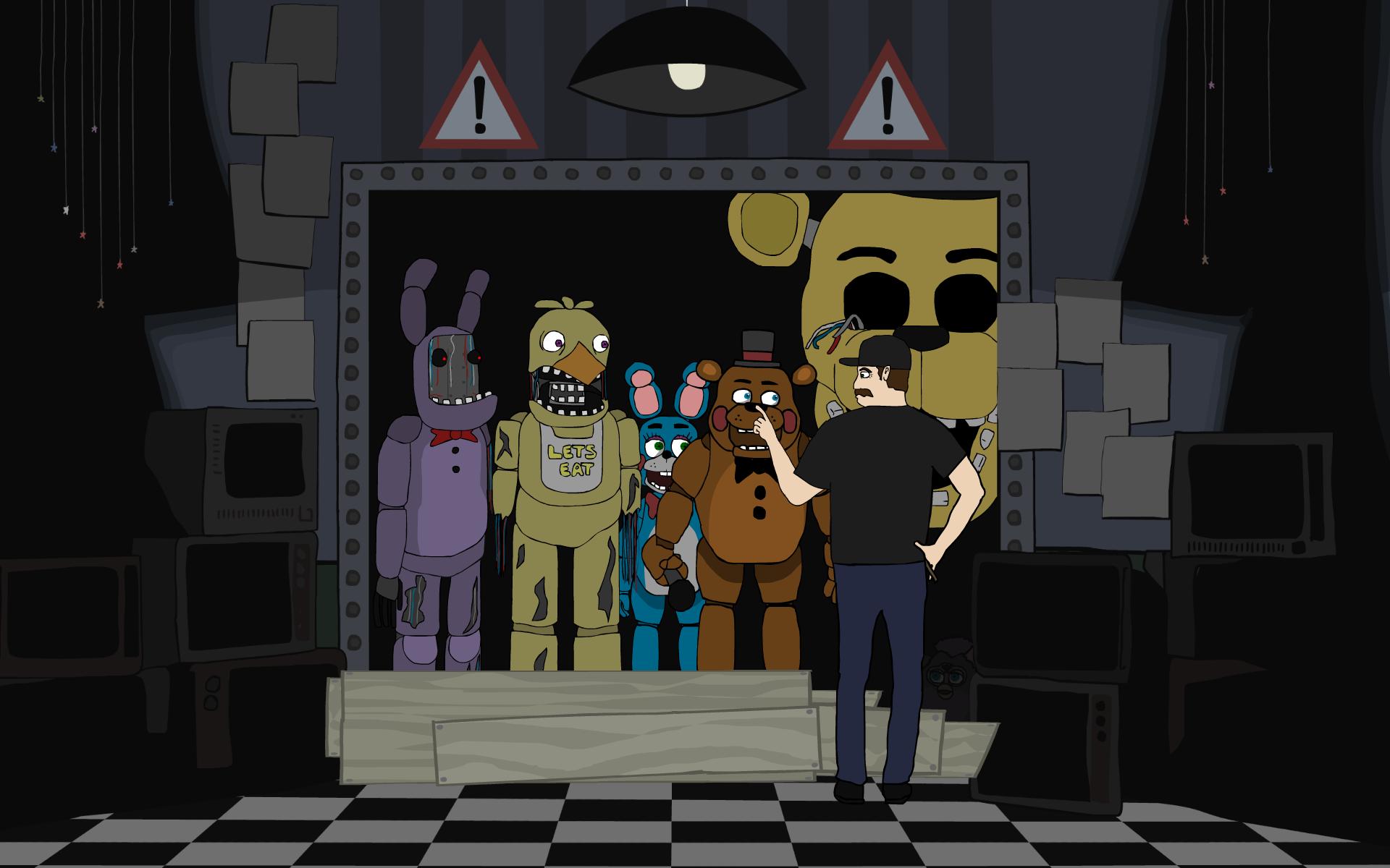 Видео игры 5 ночей с фредди приколы картинки