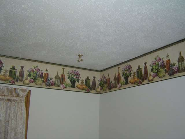 Ideas To Cover Wallpaper Border
