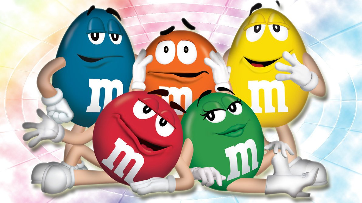 M And M Wallpaper