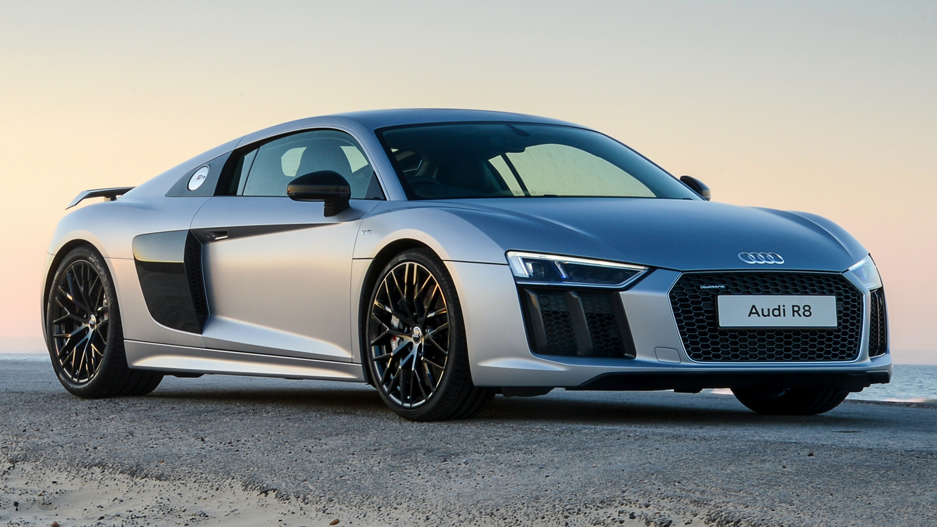 Audi R8 V10 plus 2016 ZA Wallpapers and HD Images   Car 1920x1080
