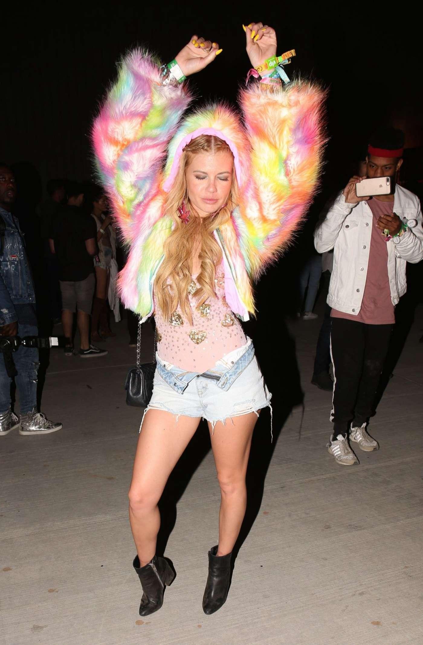 Chanel West Coast   Neon Carnival held at 2017 Coachella 1400x2135